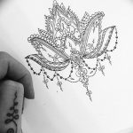 фото Эскизы индийских тату от 09.10.2017 №022 - Sketches of Indian tattoos - tatufoto.com