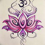 фото Эскизы индийских тату от 09.10.2017 №023 - Sketches of Indian tattoos - tatufoto.com