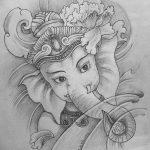 фото Эскизы индийских тату от 09.10.2017 №026 - Sketches of Indian tattoos - tatufoto.com