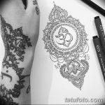 фото Эскизы индийских тату от 09.10.2017 №031 - Sketches of Indian tattoos - tatufoto.com