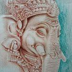 фото Эскизы индийских тату от 09.10.2017 №039 - Sketches of Indian tattoos - tatufoto.com