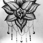фото Эскизы индийских тату от 09.10.2017 №040 - Sketches of Indian tattoos - tatufoto.com