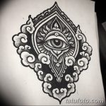 фото Эскизы индийских тату от 09.10.2017 №041 - Sketches of Indian tattoos - tatufoto.com