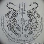 фото Эскизы индийских тату от 09.10.2017 №042 - Sketches of Indian tattoos - tatufoto.com
