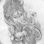 фото Эскизы индийских тату от 09.10.2017 №043 - Sketches of Indian tattoos - tatufoto.com