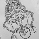 фото Эскизы индийских тату от 09.10.2017 №048 - Sketches of Indian tattoos - tatufoto.com