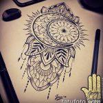 фото Эскизы индийских тату от 09.10.2017 №052 - Sketches of Indian tattoos - tatufoto.com