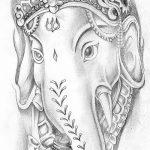 фото Эскизы индийских тату от 09.10.2017 №055 - Sketches of Indian tattoos - tatufoto.com
