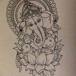 фото Эскизы индийских тату от 09.10.2017 №058 - Sketches of Indian tattoos - tatufoto.com