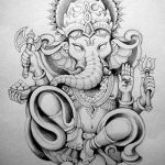 фото Эскизы индийских тату от 09.10.2017 №059 - Sketches of Indian tattoos - tatufoto.com