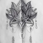 фото Эскизы индийских тату от 09.10.2017 №063 - Sketches of Indian tattoos - tatufoto.com