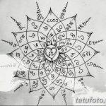 фото Эскизы индийских тату от 09.10.2017 №066 - Sketches of Indian tattoos - tatufoto.com