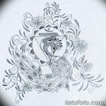 фото Эскизы индийских тату от 09.10.2017 №067 - Sketches of Indian tattoos - tatufoto.com