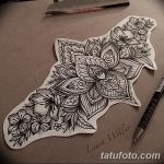 фото Эскизы индийских тату от 09.10.2017 №077 - Sketches of Indian tattoos - tatufoto.com