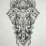 фото Эскизы индийских тату от 09.10.2017 №078 - Sketches of Indian tattoos - tatufoto.com