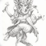 фото Эскизы индийских тату от 09.10.2017 №081 - Sketches of Indian tattoos - tatufoto.com