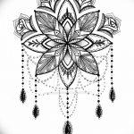 фото Эскизы индийских тату от 09.10.2017 №084 - Sketches of Indian tattoos - tatufoto.com