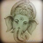 фото Эскизы индийских тату от 09.10.2017 №086 - Sketches of Indian tattoos - tatufoto.com