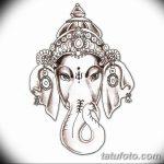 фото Эскизы индийских тату от 09.10.2017 №089 - Sketches of Indian tattoos - tatufoto.com