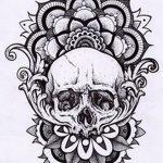 фото Эскизы индийских тату от 09.10.2017 №091 - Sketches of Indian tattoos - tatufoto.com