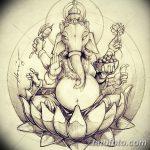 фото Эскизы индийских тату от 09.10.2017 №093 - Sketches of Indian tattoos - tatufoto.com