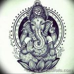 фото Эскизы индийских тату от 09.10.2017 №102 - Sketches of Indian tattoos - tatufoto.com