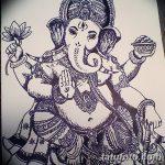 фото Эскизы индийских тату от 09.10.2017 №104 - Sketches of Indian tattoos - tatufoto.com