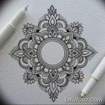 фото Эскизы индийских тату от 09.10.2017 №110 - Sketches of Indian tattoos - tatufoto.com