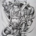 фото Эскизы индийских тату от 09.10.2017 №113 - Sketches of Indian tattoos - tatufoto.com