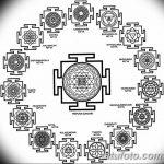 фото Эскизы индийских тату от 09.10.2017 №115 - Sketches of Indian tattoos - tatufoto.com
