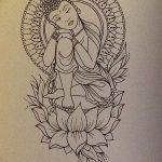 фото Эскизы индийских тату от 09.10.2017 №117 - Sketches of Indian tattoos - tatufoto.com