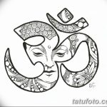 фото Эскизы индийских тату от 09.10.2017 №118 - Sketches of Indian tattoos - tatufoto.com