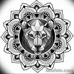 фото Эскизы индийских тату от 09.10.2017 №120 - Sketches of Indian tattoos - tatufoto.com