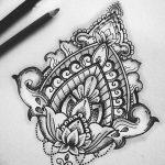 фото Эскизы индийских тату от 09.10.2017 №122 - Sketches of Indian tattoos - tatufoto.com