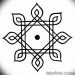 фото Эскизы индийских тату от 09.10.2017 №123 - Sketches of Indian tattoos - tatufoto.com