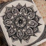 фото Эскизы индийских тату от 09.10.2017 №127 - Sketches of Indian tattoos - tatufoto.com
