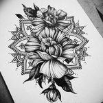 фото Эскизы индийских тату от 09.10.2017 №136 - Sketches of Indian tattoos - tatufoto.com