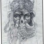 фото Эскизы индийских тату от 09.10.2017 №138 - Sketches of Indian tattoos - tatufoto.com