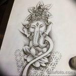 фото Эскизы индийских тату от 09.10.2017 №140 - Sketches of Indian tattoos - tatufoto.com
