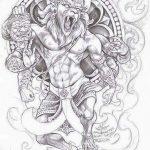 фото Эскизы индийских тату от 09.10.2017 №144 - Sketches of Indian tattoos - tatufoto.com