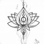 фото Эскизы индийских тату от 09.10.2017 №145 - Sketches of Indian tattoos - tatufoto.com