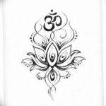фото Эскизы индийских тату от 09.10.2017 №156 - Sketches of Indian tattoos - tatufoto.com