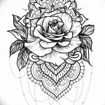 фото Эскизы индийских тату от 09.10.2017 №167 - Sketches of Indian tattoos - tatufoto.com
