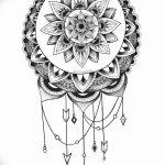 фото Эскизы индийских тату от 09.10.2017 №170 - Sketches of Indian tattoos - tatufoto.com
