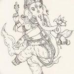 фото Эскизы индийских тату от 09.10.2017 №171 - Sketches of Indian tattoos - tatufoto.com