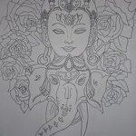 фото Эскизы индийских тату от 09.10.2017 №172 - Sketches of Indian tattoos - tatufoto.com