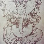 фото Эскизы индийских тату от 09.10.2017 №174 - Sketches of Indian tattoos - tatufoto.com