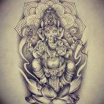 фото Эскизы индийских тату от 09.10.2017 №175 - Sketches of Indian tattoos - tatufoto.com