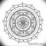 фото Эскизы индийских тату от 09.10.2017 №180 - Sketches of Indian tattoos - tatufoto.com