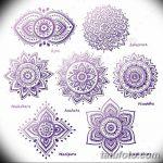фото Эскизы индийских тату от 09.10.2017 №182 - Sketches of Indian tattoos - tatufoto.com